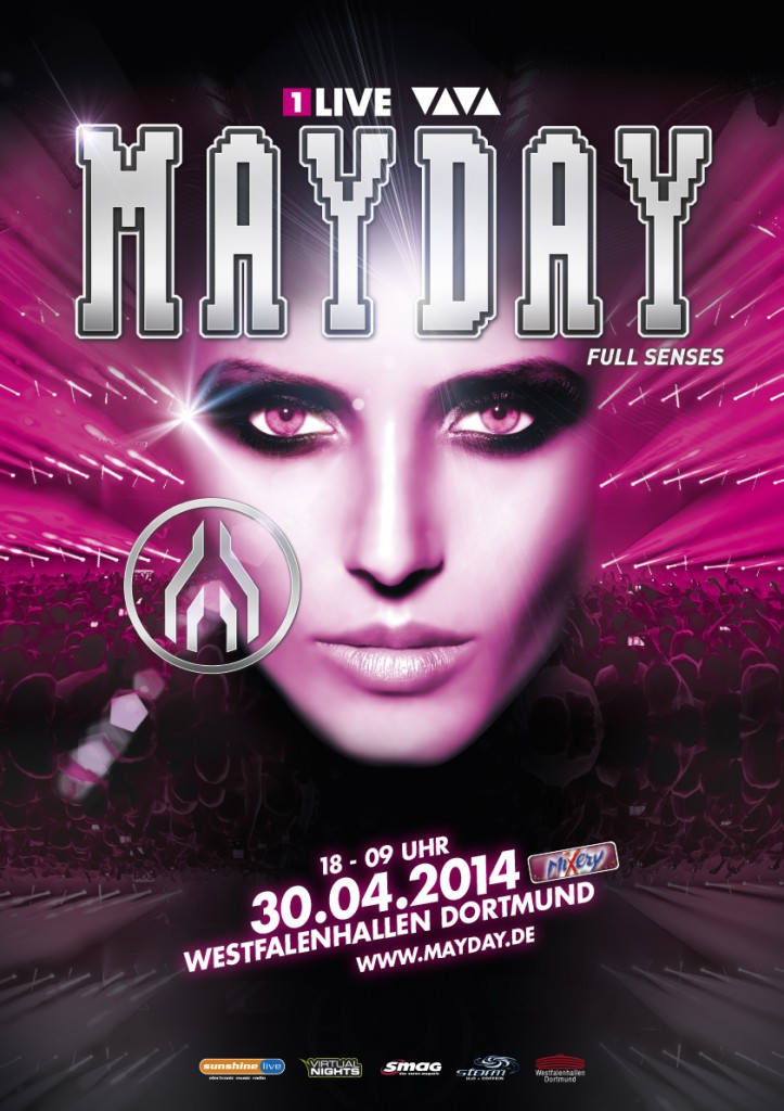 MAYDAY 2014 - Plakat